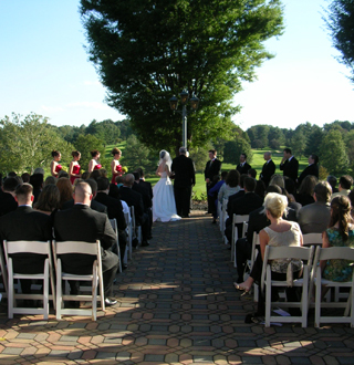 River Bend GCC Wedding Ceremony